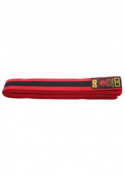 DAX Gürtel - rot/schwarz