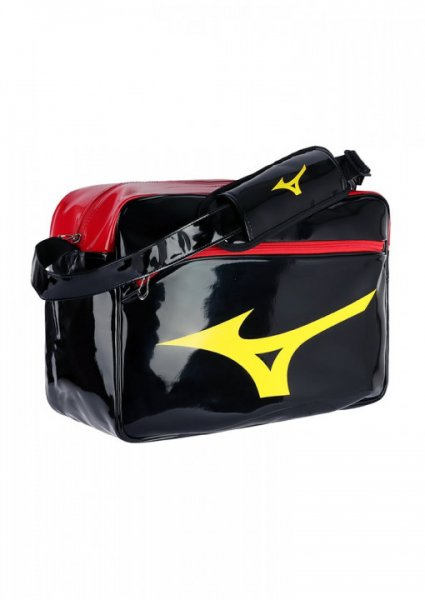 MIZUNO Enamel Bag, schwarz-rot-gold