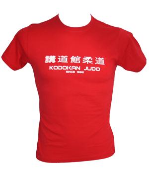 "T-Shirt ""Kodokan since 1882"" - rot"