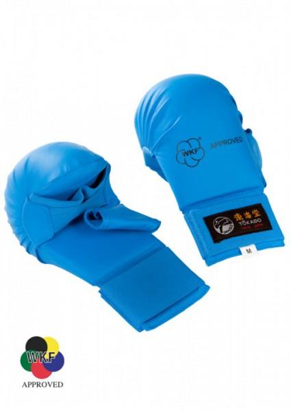 TOKAIDO Faustschutz mit Daumen - blau - WKF approved