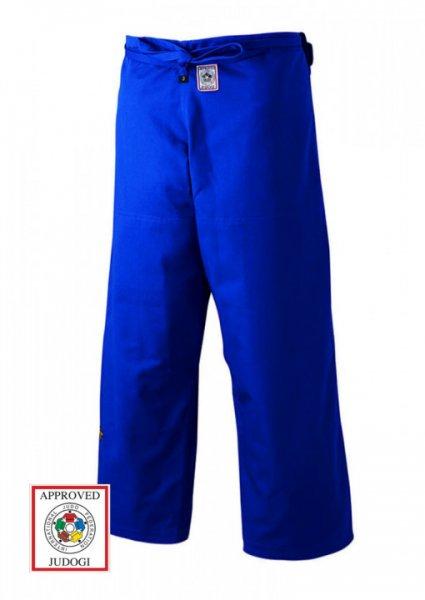 Judo Hose, MIZUNO YUSHO, Made in Japan, blau, IJF