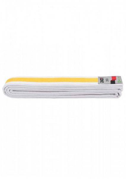 DAX Gürtel - weiß/gelb