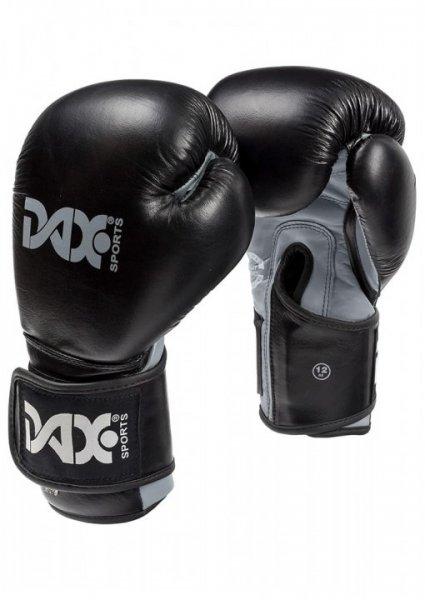 DAX WRIST LOCK - Boxhandschuh - Leder - schwarz/grau