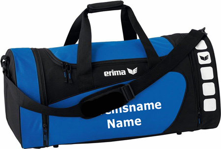"Erima ""Club 5 Line"" - Tasche - blau"