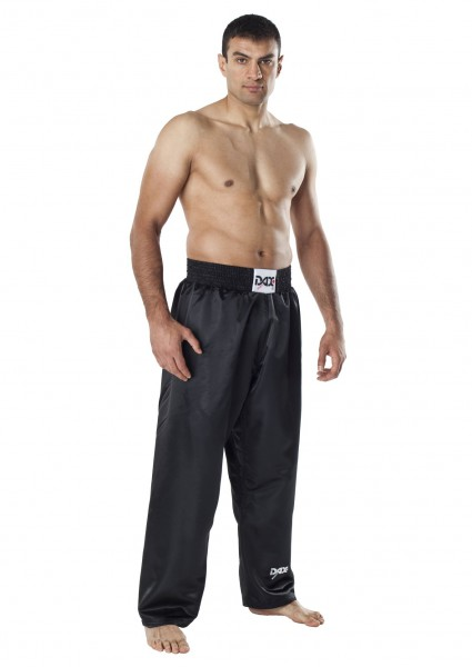 Hose Fighter - Satin - schwarz