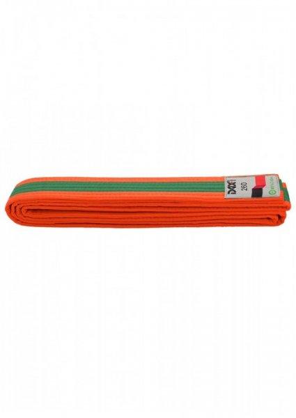 DAX Gürtel - orange/grün