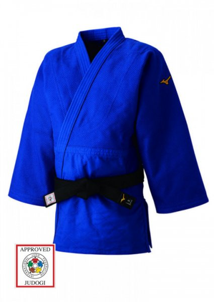 Judo Jacke, MIZUNO YUSHO, made in Japan, blau IJF