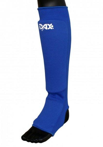 """DAX """"ELASTIC"""" - Schienbein-/Spannschutz - blau"""
