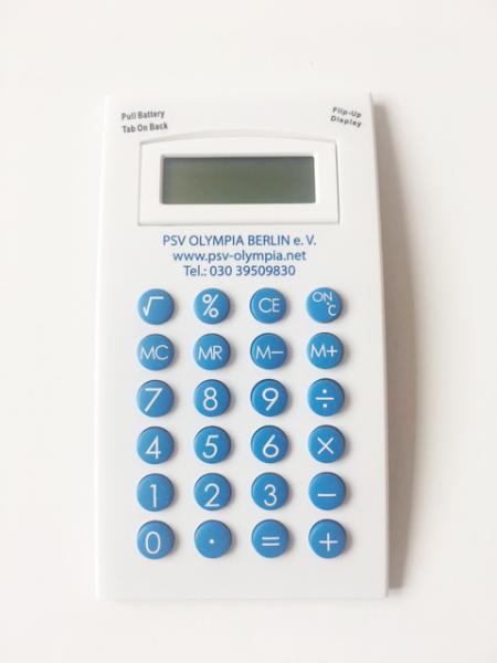"Taschenrechner ""PSV Olympia"""