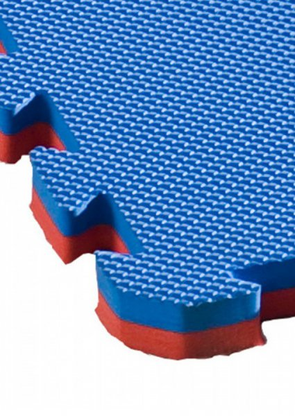 """Puzzlematten """"ALLROUND DUAL"""" rot/blau - 25mm"""