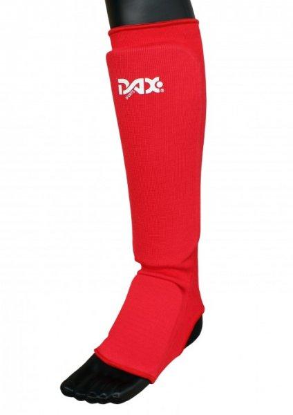"""DAX """"ELASTIC"""" - Schienbein-/Spannschutz - rot"""