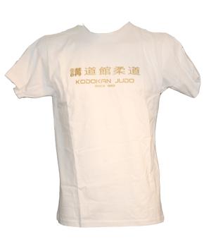 """T-Shirt """"Kodokan since 1882"""" weiß"""