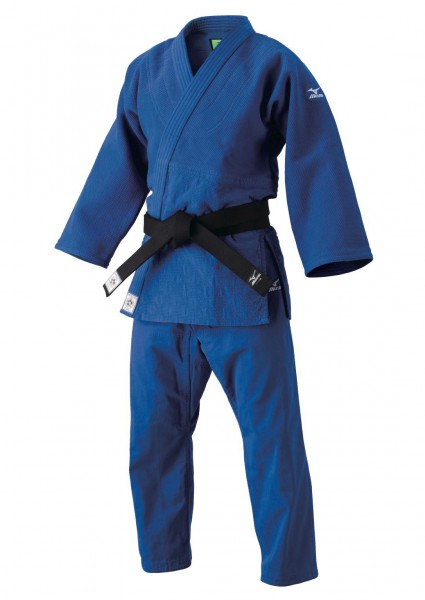 "MIZUNO ""YUSHO III"" Gi - blau - red label"