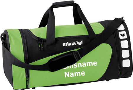 """Erima """"Club 5 Line"""" - Tasche - grün/schwarz"""