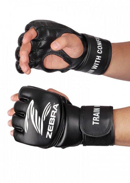 MMA HANDSCHUHE, ZEBRA PRO FIGHT, LEDER
