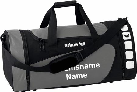 """Erima """"Club 5 Line"""" - Tasche - granit/schwarz"""